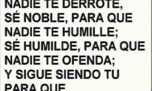 frases de la vida humildad